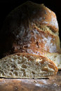 Artisan Bread Loaf Royalty Free Stock Photography