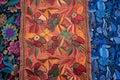 Artisan handmade decorative textile Royalty Free Stock Photo