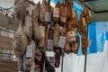 Artisan Market in San Carlos de Bariloche in Santa Cruz Province, Argentina Royalty Free Stock Photo