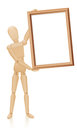Artist Mannequin Blank Board Royalty Free Stock Photo
