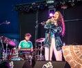 Artist Naaz in public free concert in Rotterdam