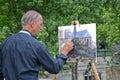 Artist painter Royalty Free Stock Photo