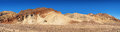 Artist palette panorama of the s colourful rock formations in death valley california usa Royalty Free Stock Photography