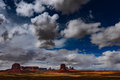 Artist Point Overlook Monument Valley Royalty Free Stock Photo