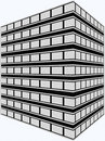 Artist Rendering Office Building Royalty Free Stock Photography