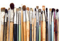 Artist's brushes Royalty Free Stock Photography