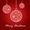 Artistic christmas card Stock Photography