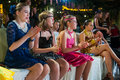 Artistic dance awards moscow october audience teens age cheering on the organized by world federation on october in Royalty Free Stock Images