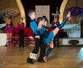 Artistic dance awards moscow october unidentified children age compete in latino on the organized by world Royalty Free Stock Image