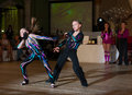 Artistic dance awards moscow october unidentified children age compete in latino on the organized by world Royalty Free Stock Photography