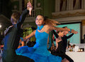Artistic dance awards moscow october unidentified children age compete in latino on the organized by world Stock Photo