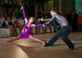 Artistic dance awards moscow october unidentified teens age compete in latino on the organized by world Stock Photos