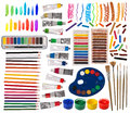 Artistic equipment Stock Image