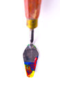 Artistic equipment paint spatula see my other works in portfolio Stock Photos