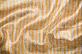 Artistic fabric texture fabric glod Stock Photos