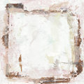 Artistic grungy painted background blank in the middle brown Royalty Free Stock Photos