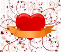 Artistic heart vector design illustration Royalty Free Stock Photography