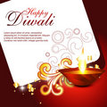 Artistic hindu festival Royalty Free Stock Photography