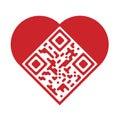 Artistic Love QR Code