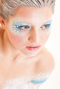 Artistic make-up Royalty Free Stock Photography