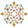Artistic ottoman pattern series thirty two