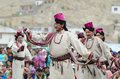 Artists on Festival of Ladakh Heritage Stock Images