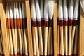 Artists Fine Brushes Royalty Free Stock Photo