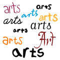 Arts Background Stock Images
