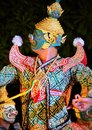 Arts performing of thailand Royalty Free Stock Photography