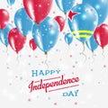 Aruba Vector Patriotic Poster. Independence Day.