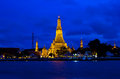 Arun temple in Bangkok Royalty Free Stock Images