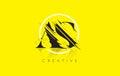 AS Letter Logo with Vintage Grundge Drawing Design. Destroyed Cu