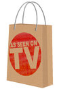 As seen on TV on Kraft shopping bag