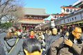 Asakusa Buddhist Shrine - Sensoji Royalty Free Stock Photos