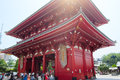Asakusa kannon temple tokyo japan sensoji also known as is a buddhist located in it is one of s most colorful and popular Royalty Free Stock Photos