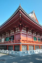 Asakusa kannon temple tokyo japan sensoji also known as is a buddhist located in it is one of s most colorful and popular Stock Photography
