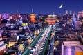 Asakusa Skyline Royalty Free Stock Photo