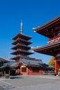 Asakusa temple Tokyo Japan Royalty Free Stock Photography