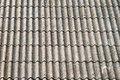 Asbestos roof a corrugated cement Royalty Free Stock Photography