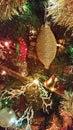 Ascendente cercano del árbol de navidad Fotos de archivo