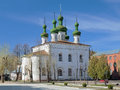 Ascension church in kineshma russia ivanovo oblast Royalty Free Stock Photography