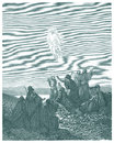 The ascension of jesus for editorial use Stock Photography