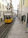 Ascensor da Bica, lisbon Royalty Free Stock Photo