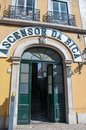 Ascensor da Bica station in Lisbon, Portugal Royalty Free Stock Photo