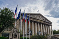Asemblee nationale national assembly in the city of paris france assemblee Stock Photography