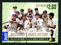 The Ashes Australian Postage Stamp Royalty Free Stock Photo