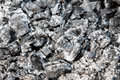 Ashes of burned wood charcoal black beautiful remnants burnt Royalty Free Stock Image