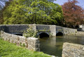 Ashford in the water peak district national park derbyshire the Royalty Free Stock Photo