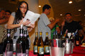 Ashkelon wine festival isr mar tasting at on feb annual consumption among israelis averages liters of per Stock Photos