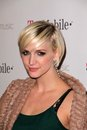 Ashlee Simpson, Mr Brainwash, Royalty Free Stock Image